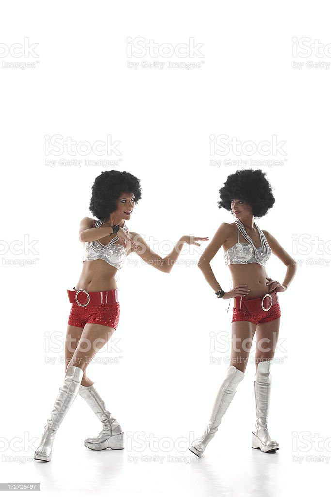 Club Dancers royalty-free stock photo