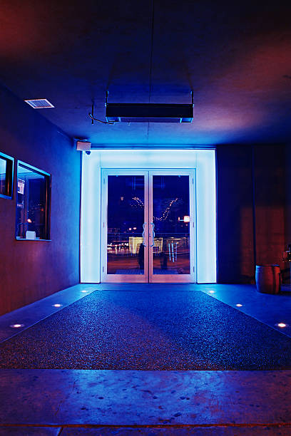 club neon - entrance stock pictures, royalty-free photos & images
