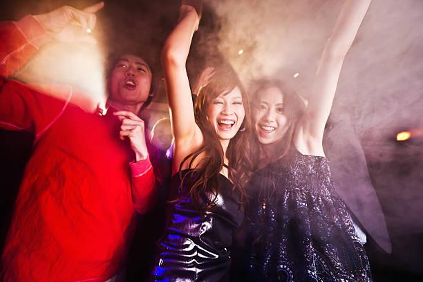 クラブパーティでダンスパーティーを、東京、日本 ストックフォト