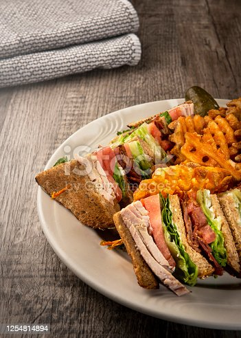 Club sandwich / Food photography  concept (Click for more)