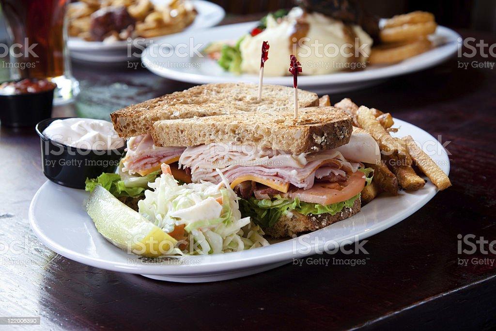 Club Sandwich royalty-free stock photo