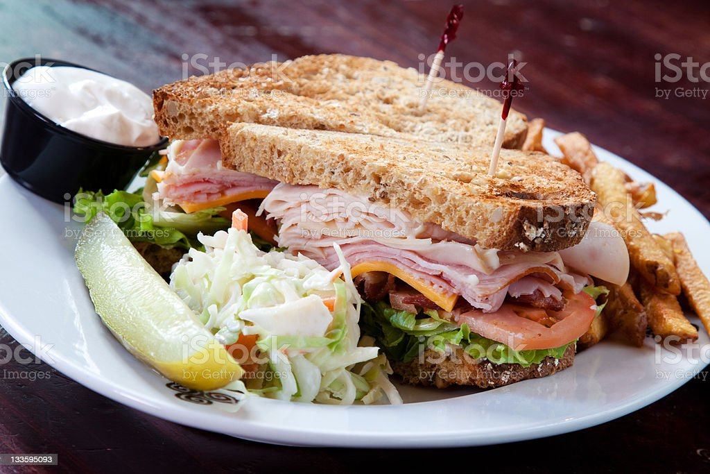 Club Sandwich royalty-free stock photo