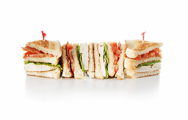 club sandwich - club sandwich stock photos and pictures