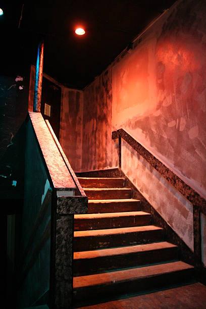 Club Staircase stock photo