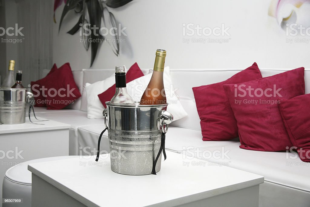 Club Wine Bucket royalty-free stock photo