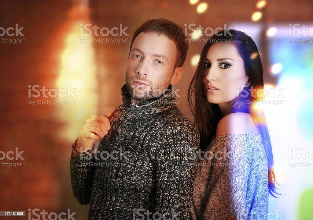 Clubbing night royalty-free stock photo