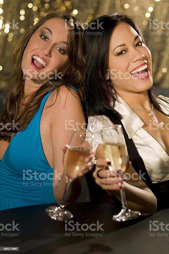 Clubbing Together royalty-free stock photo