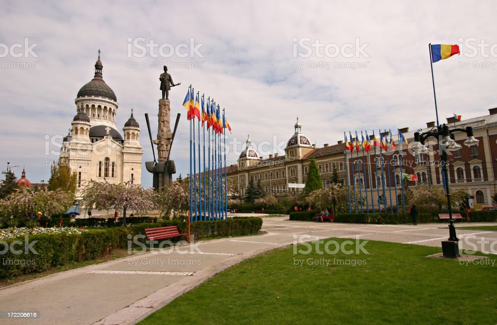 Cluj Napoca, Romania royalty-free stock photo