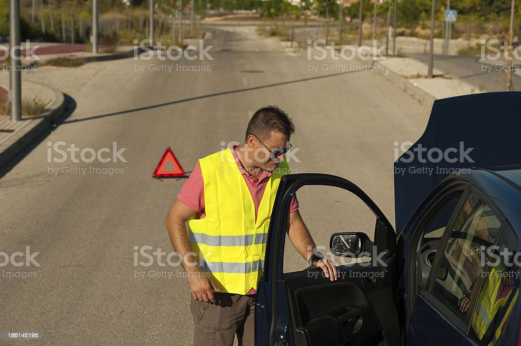 Clunker stock photo