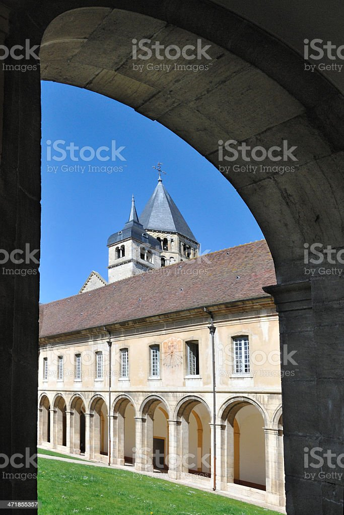 Cluny royalty-free stock photo