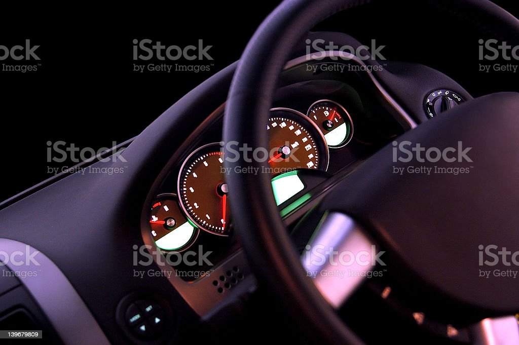 Cluster Focus royalty-free stock photo