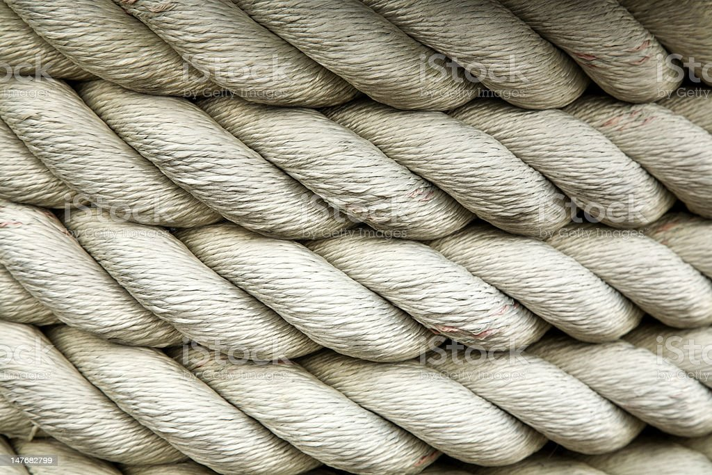 Cluster of Rope Strands royalty-free stock photo