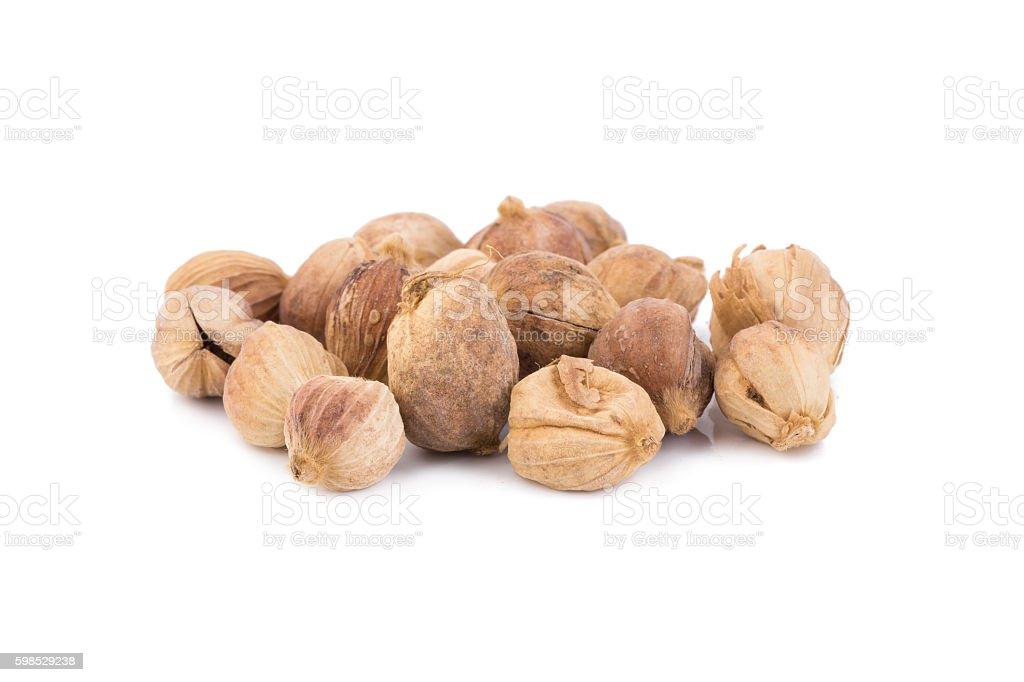 Clustered Cardamom, Camphor Seed stock photo