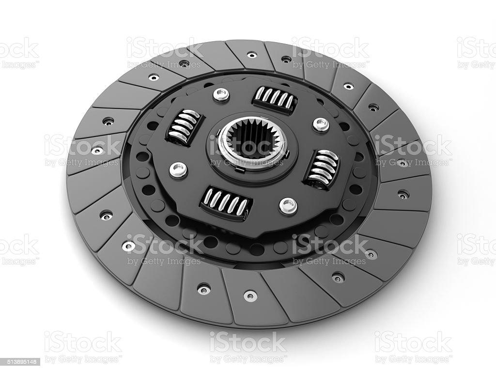 Clutch disc car stock photo