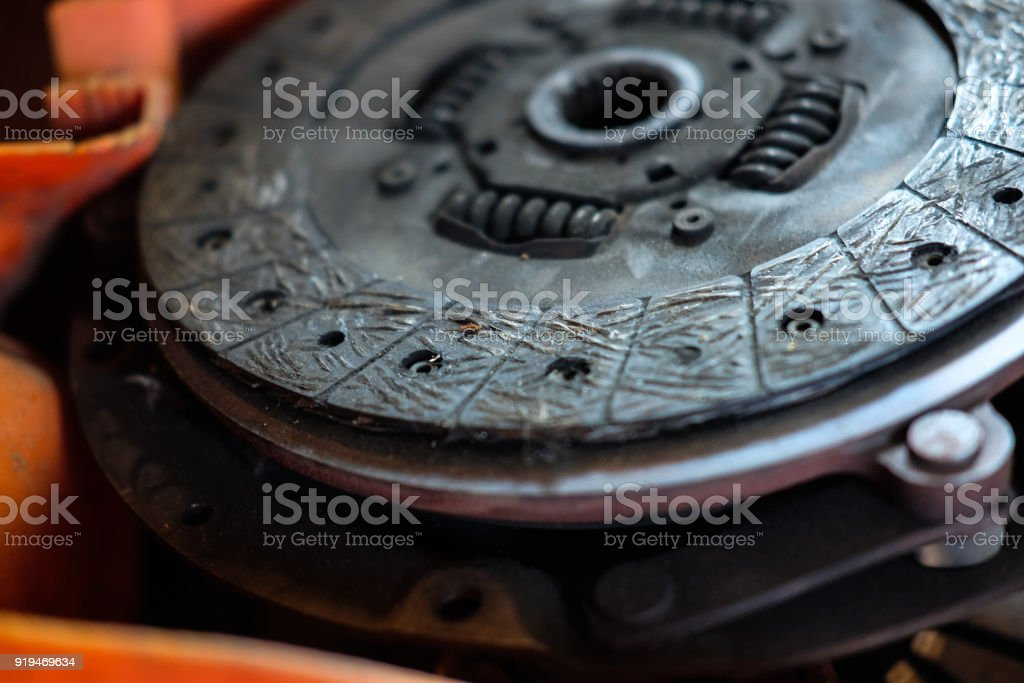 clutch plate expire stock photo