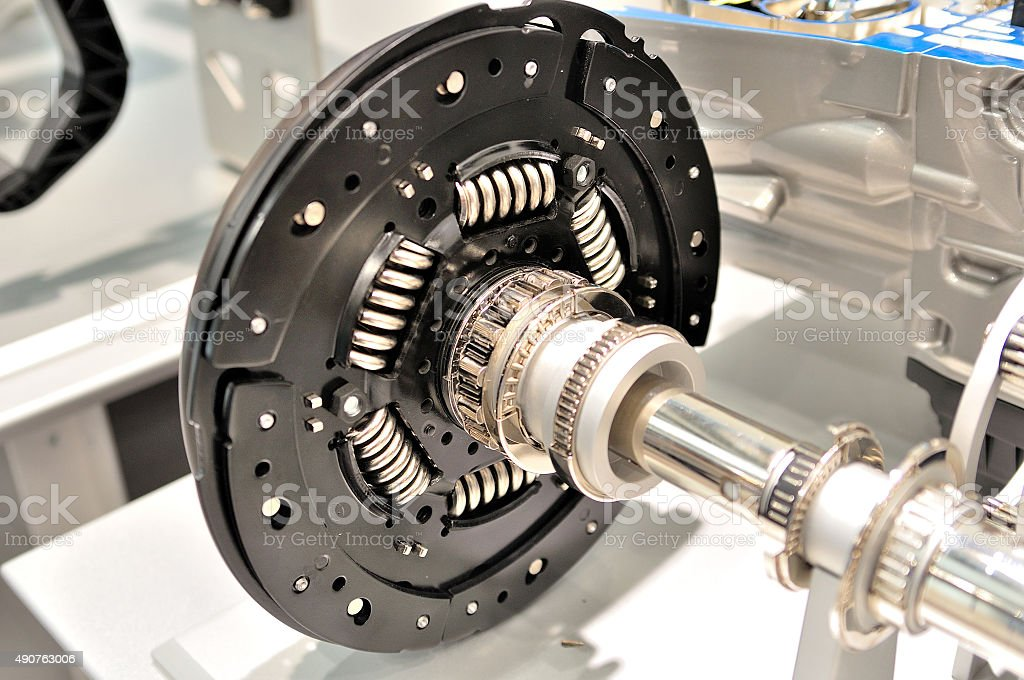 Clutch plate. stock photo