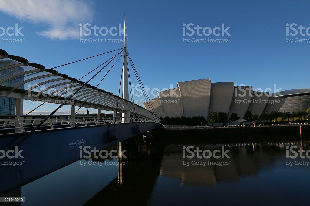 Clyde Auditorium Glasgow stock photo
