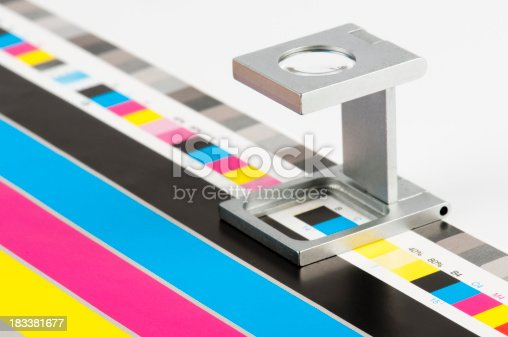 typographical body stripe and coloured scale
