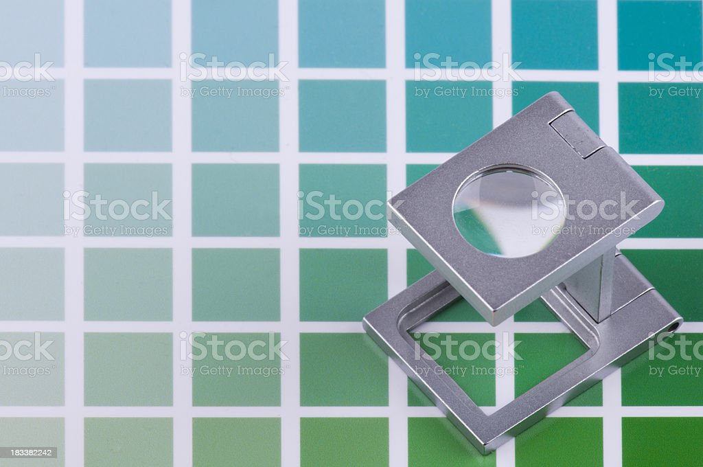 cmyk color guide royalty-free stock photo