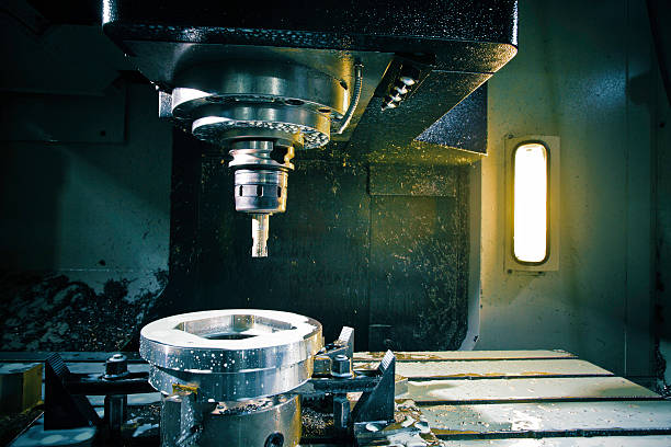 cnc Machine-outil de travail - Photo