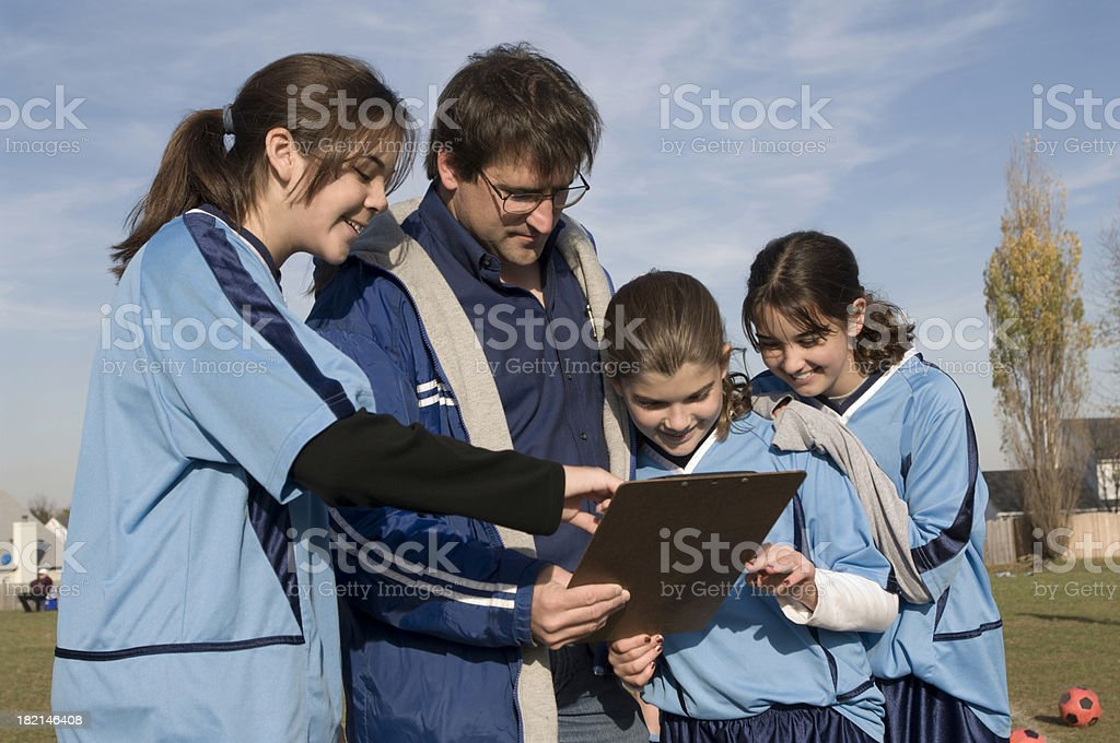 coach and gals royalty-free stock photo