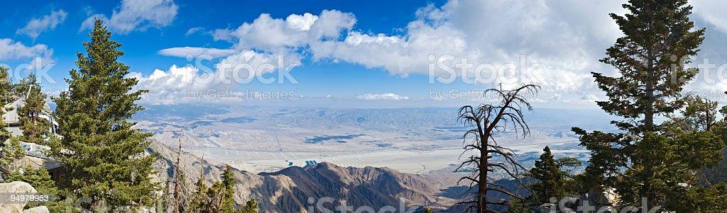 Coachella Valley vista royalty-free stock photo