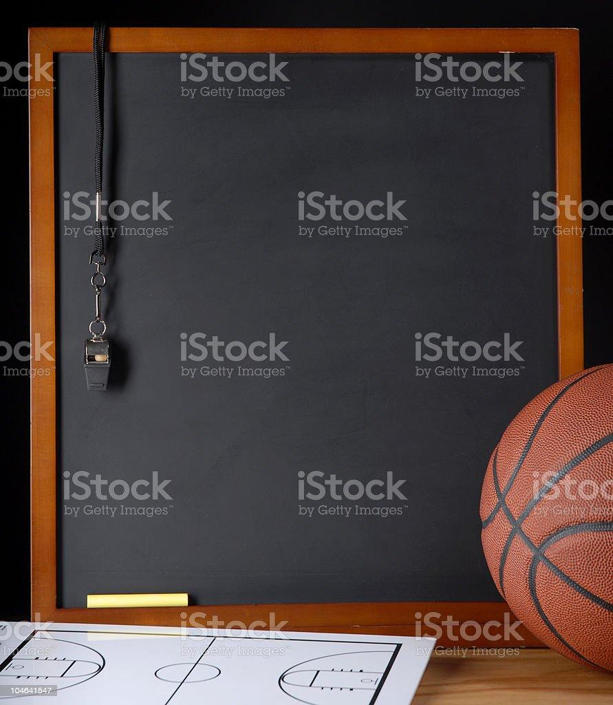 Coaches Corner Basketball stock photo