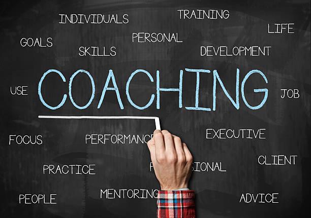 Coaching / Blackboard concept (Click for more) stock photo