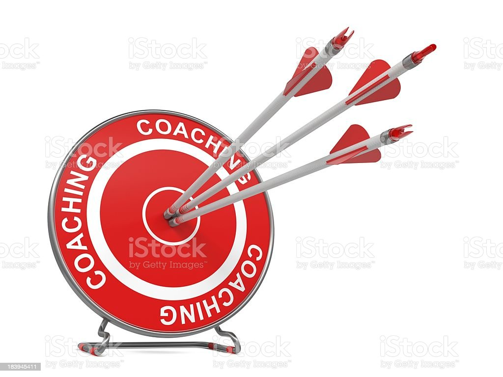Coaching. Business Background. royalty-free stock photo