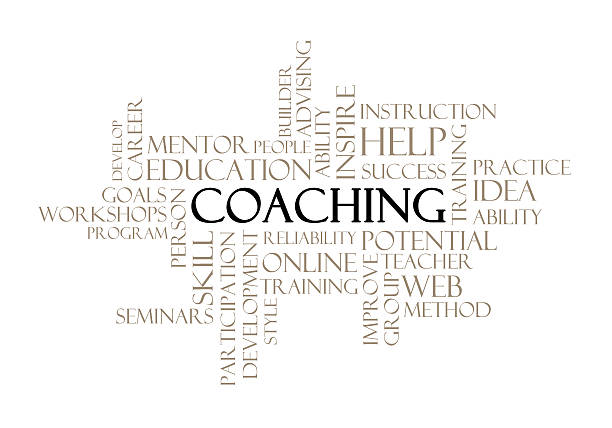 royalty free coaching word cloud pictures, images and stock photos