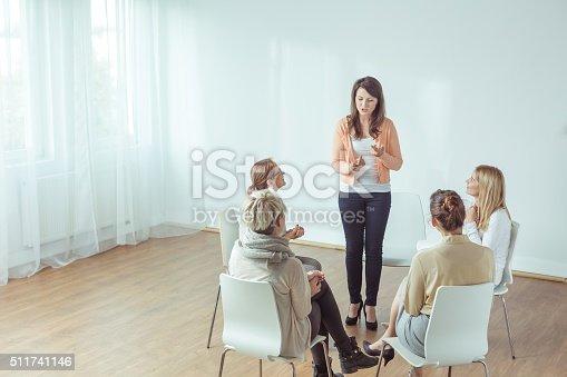 511741068 istock photo Coaching for young women 511741146