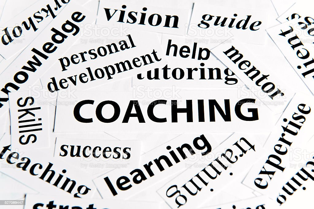 Coaching / Paper concept (Click for more) stock photo