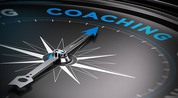 Di Coaching - foto stock