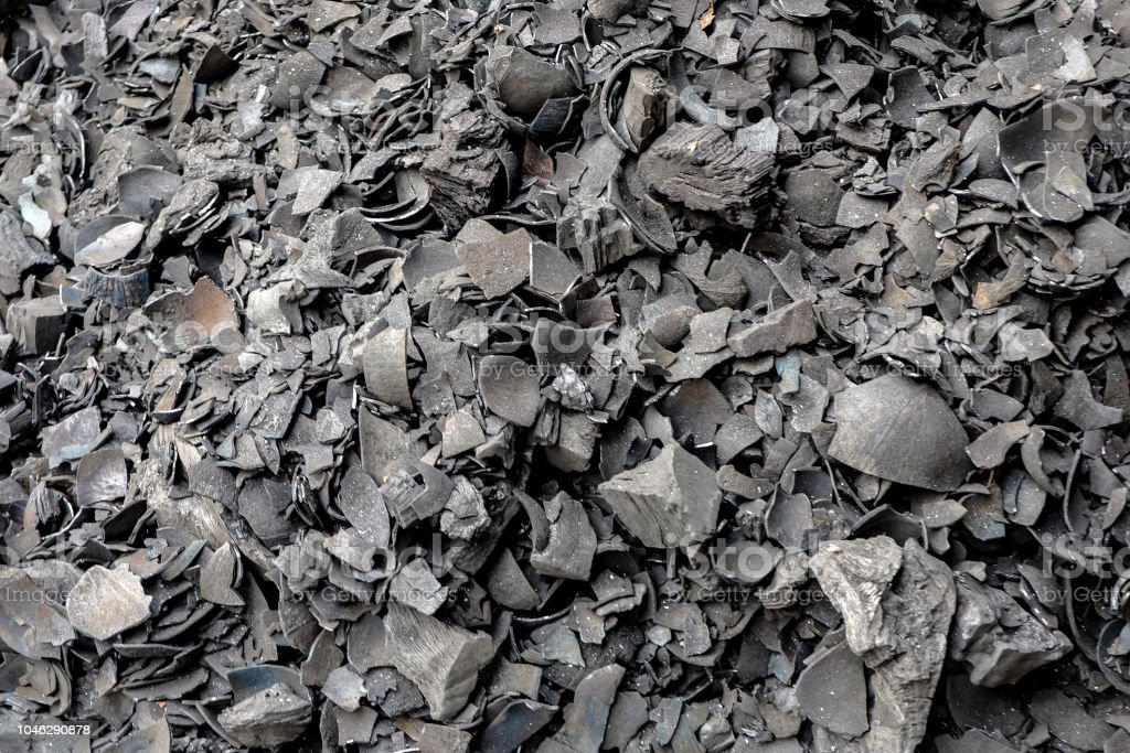Coal ash texture background Coal ash texture background Accidents and Disasters Stock Photo
