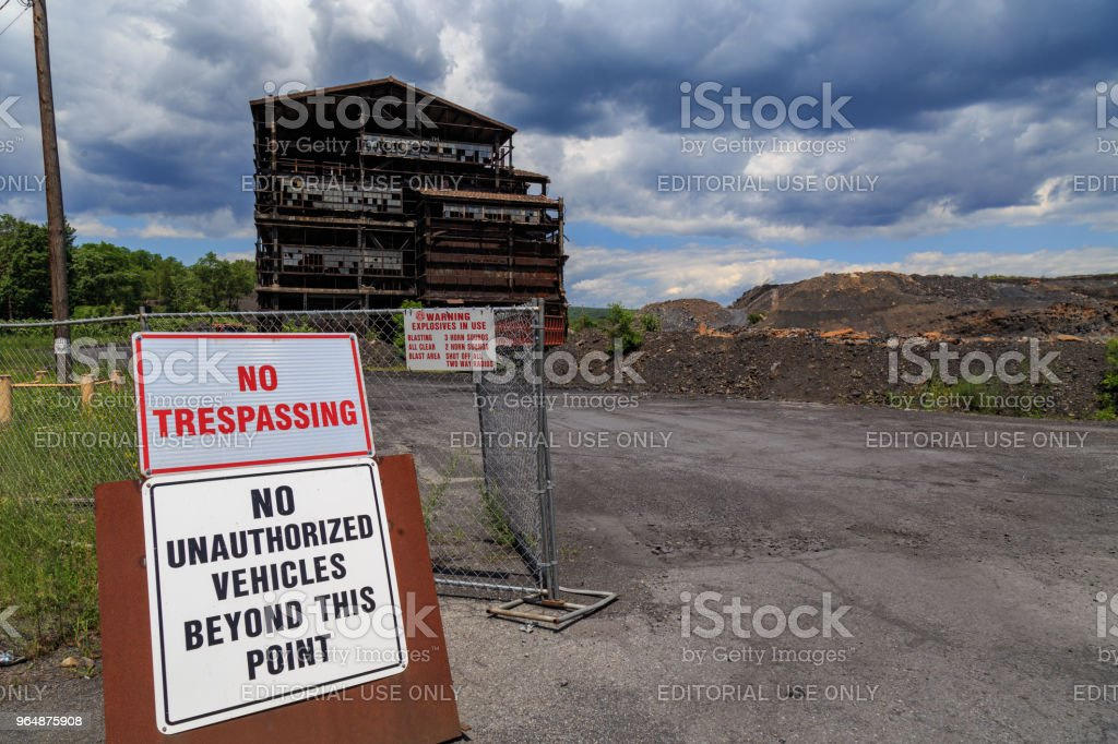Coal Breaker royalty-free stock photo