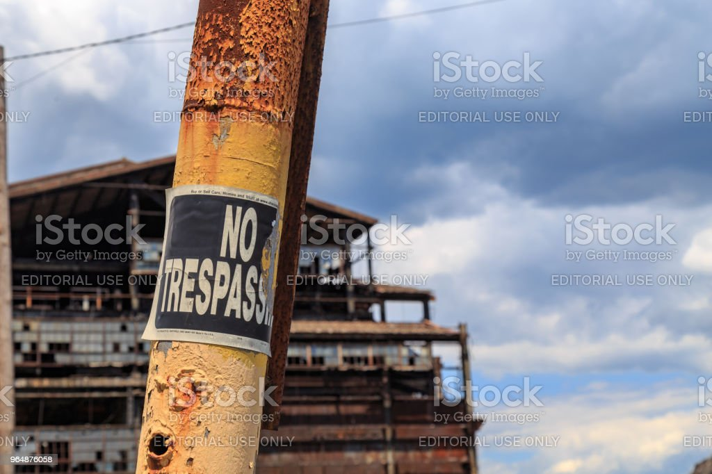 Coal Breaker royalty-free stock photo