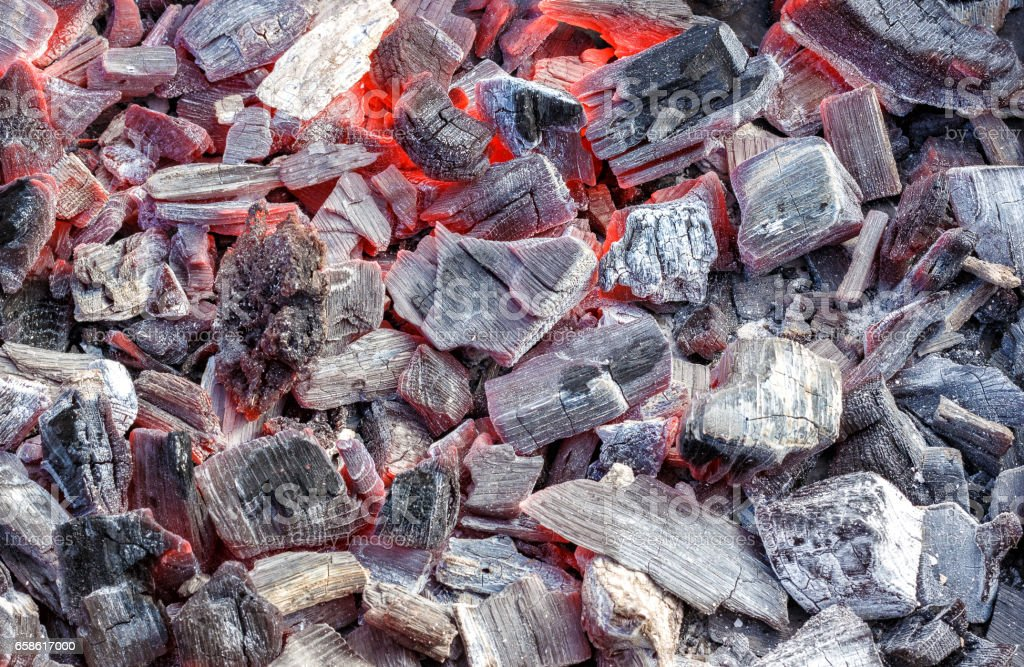 Coal for cooking . stock photo