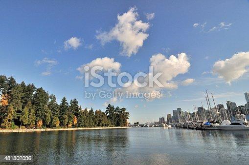 istock Coal Harbor in the autumn 481802036