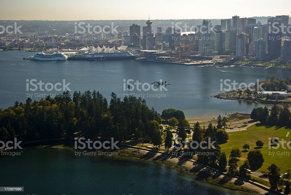 Coal Harbour royalty-free stock photo