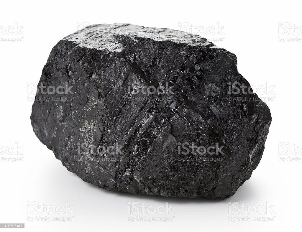 Coal Lump stock photo