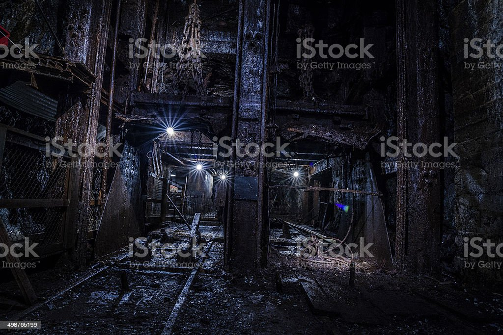 Coal Mine, Pennsilvanyam Carbon County stock photo