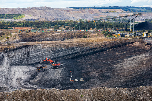 Coal mine located near Broke NSW