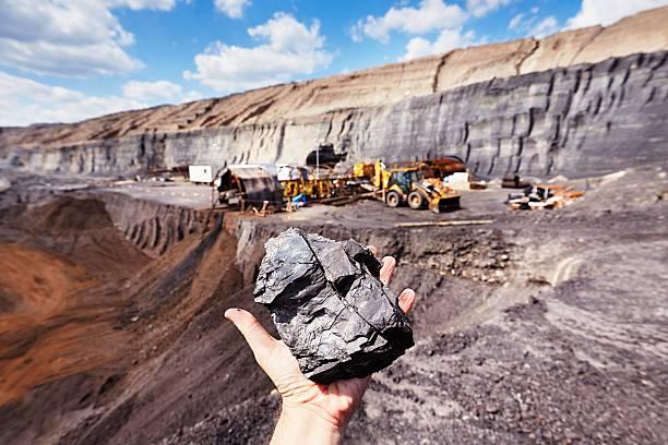 kopalnia węgla - geologia zdjęcia i obrazy z banku zdjęć