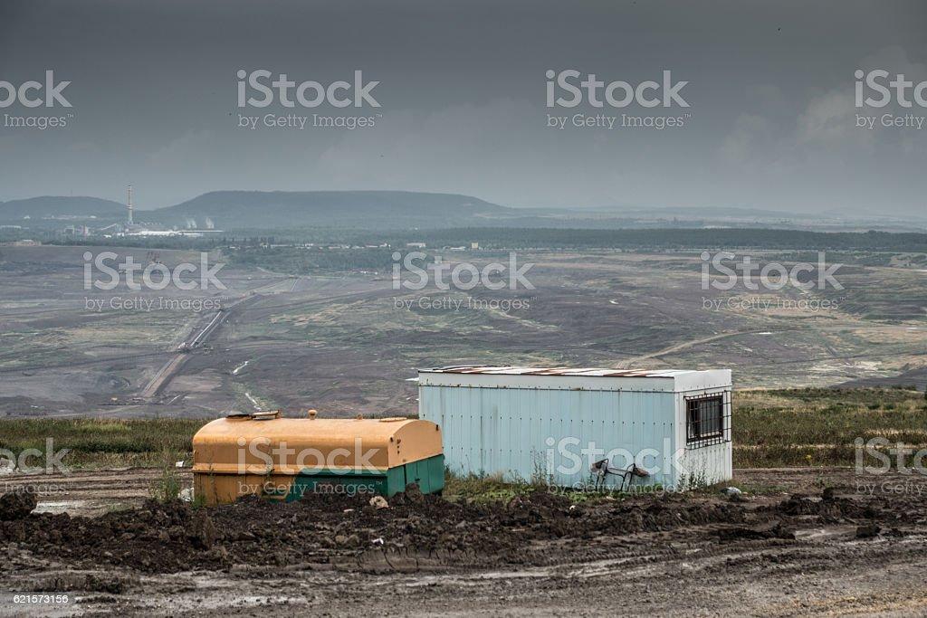 mine de charbon photo libre de droits