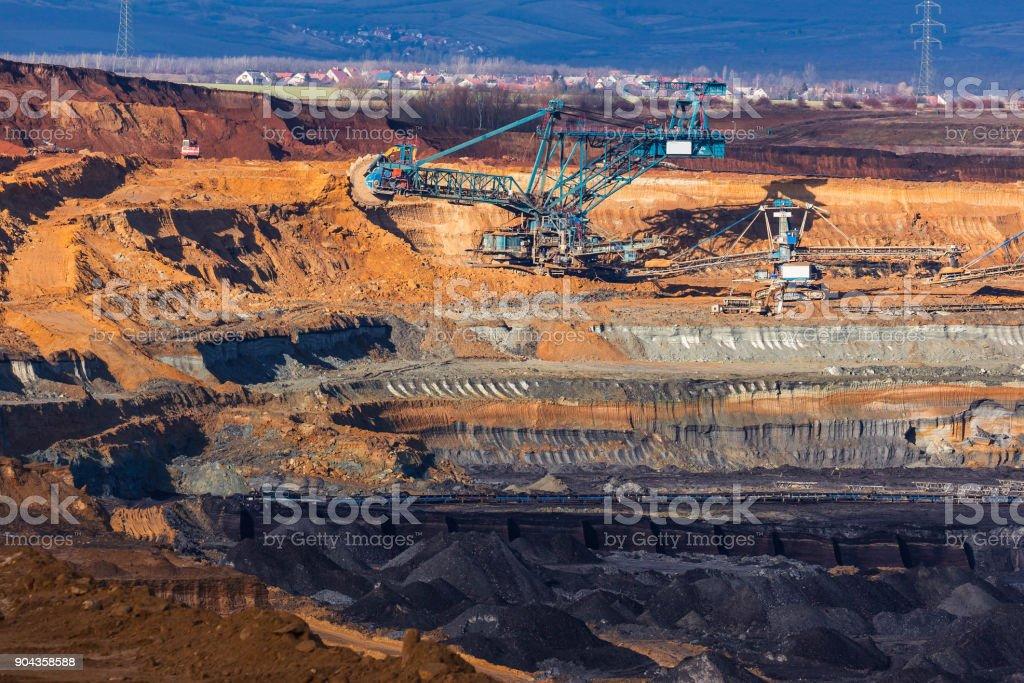 mine de charbon - Photo