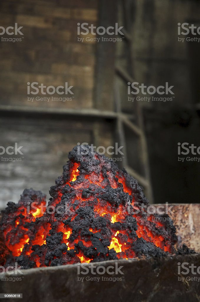 Coal mine royalty-free stock photo