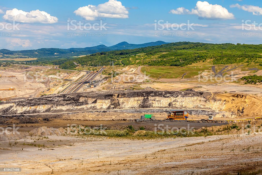 Coal mine,Czech Republic stock photo