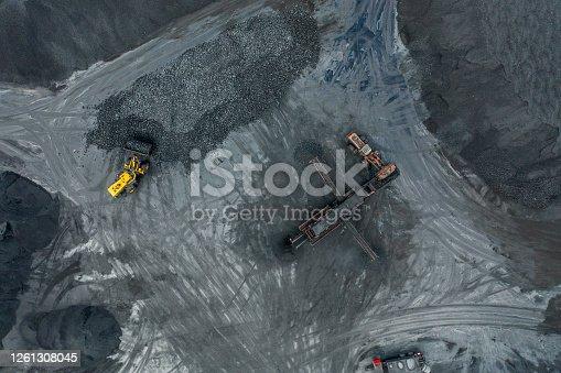 Coal mineral exploitation