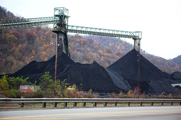 Coal Mining in West Virginia Coal Mining West Virginia appalachia stock pictures, royalty-free photos & images
