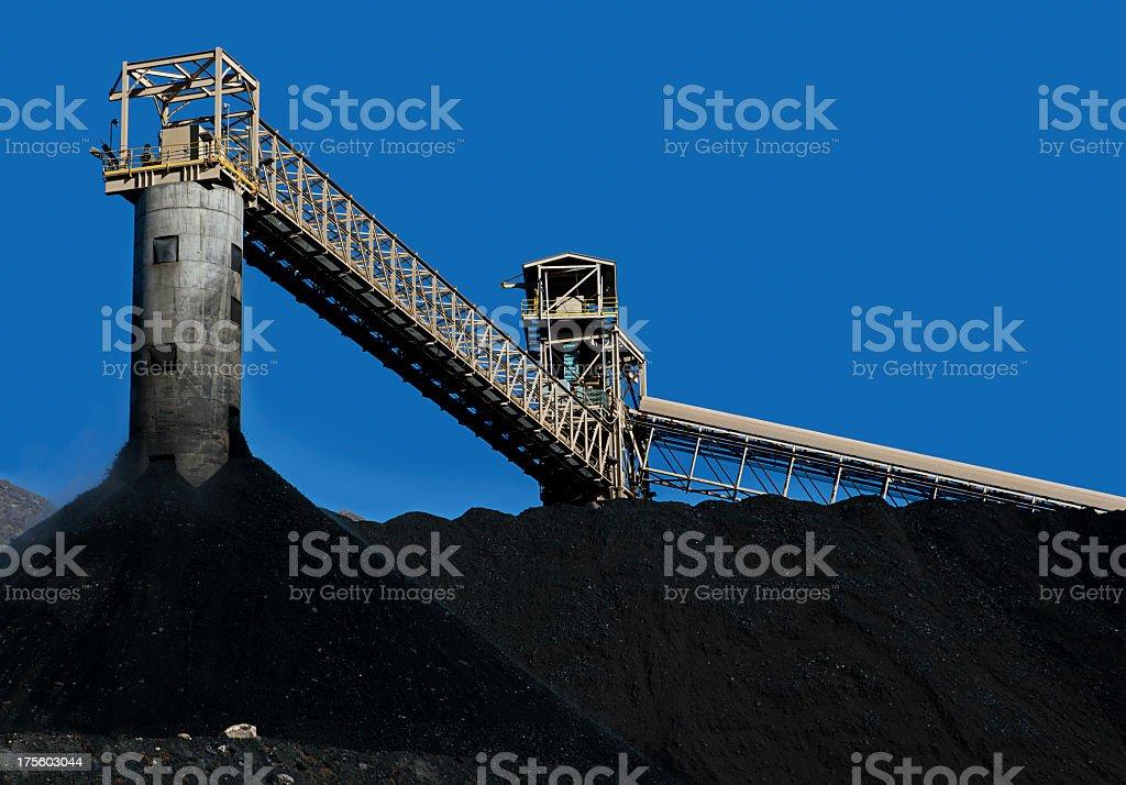 Coal Mining stock photo